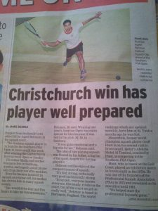 Christchurch Open NZ Ewallstreeter 26.6.2014